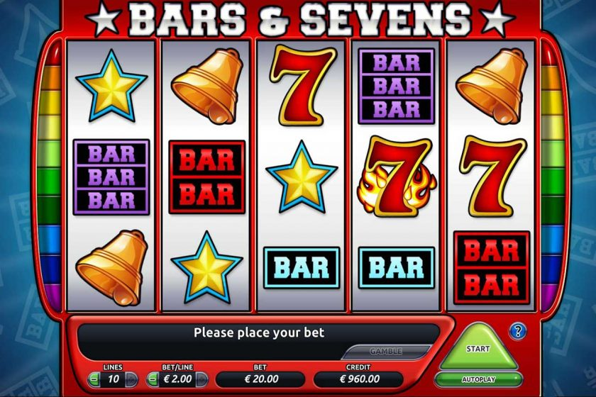 Classic Slots Machines with a Gambling Theme