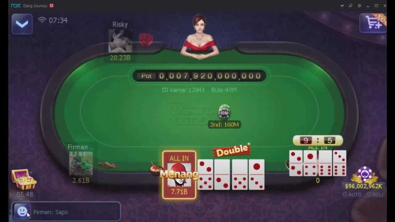 Special cards in the Domino Qiu Qiu Game